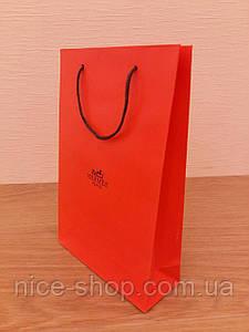 Подарочный пакет  Hermès: вертикаль, mini