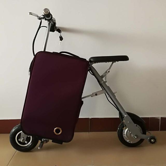 эллектроскутер багажник сумка