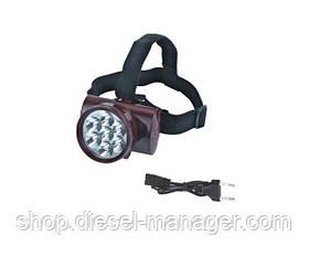 Аккумуляторный налобный фонарь Yajia YJ-1858a (sp_1174)