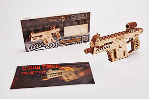 Конструктор  деревянный Штурмовая винтовка. Wood trick пазл. 100% ГАРАНТИЯ КАЧЕСТВА!!! (Опт,дропшиппинг)