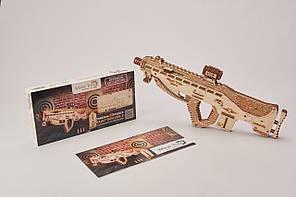 Конструктор  деревянный Штурмовая винтовка USG-2. Wood trick пазл. 100% ГАРАНТИЯ КАЧЕСТВА!!! (Опт,дропшиппинг)