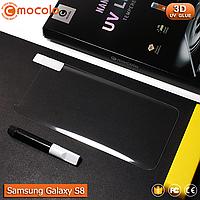 Захисне скло Mocolo Samsung Galaxy S8 Nano Optics UV Liquid Tempered Glass 3D (Clear), фото 1
