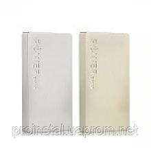 Powerbank (Polymer Battery) Remax Super Alloy RPP-30, 2xUSB, 5V, 1.5A, 6000mAh, Gold, Box