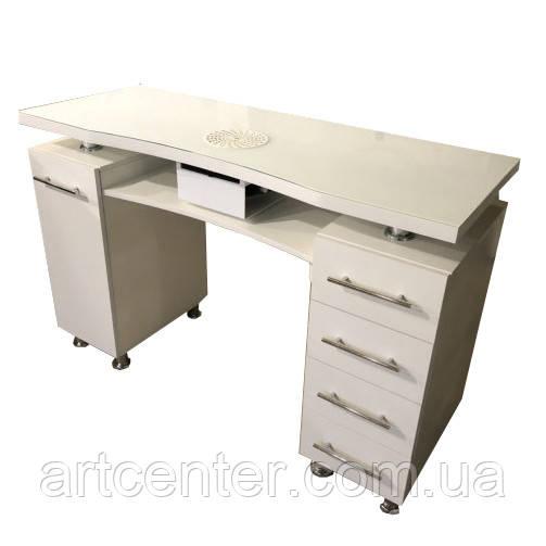 Маникюрный стол с ящиками и карго
