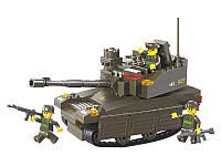 Детский конструктор Sluban Вооруженные Силы Танк Леопард-2А6М M38-B0285 217 деталей (10-59-285)