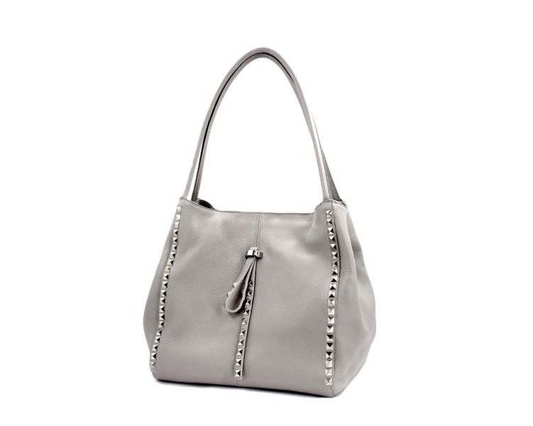 dd68d6f2dfa7 Купить Сумка шоппер женская Laura Biaggi (80-05) серая SR-1017 в ...