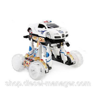 Машина-трансформер на радиоуправлении Ломбарджини Kronos Toys 9808-AA10 Белый (tsi_43376)