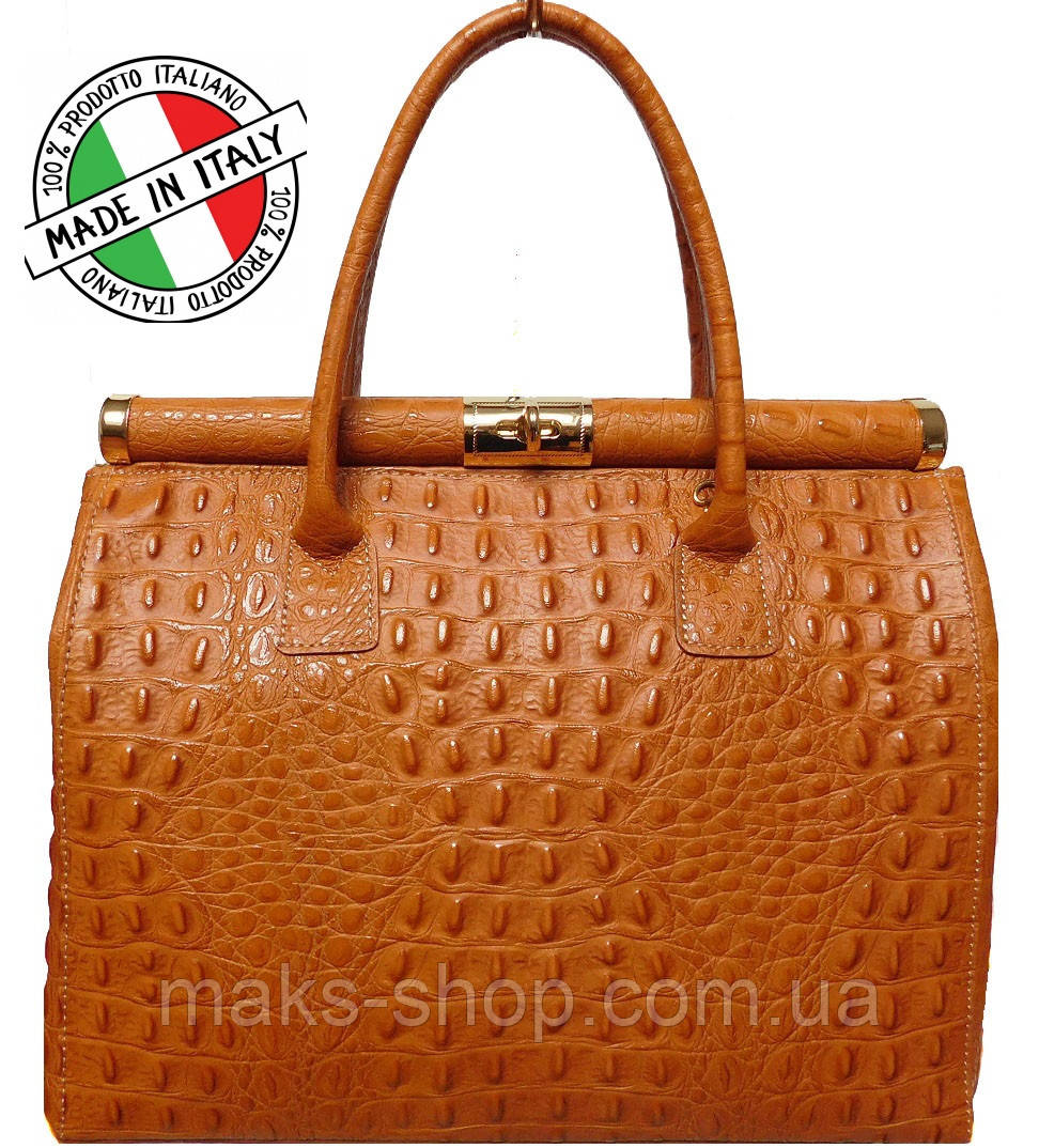 23bc08a73224 Итальянская кожаная сумка знаменитого бренда Bottega Carele BC901 - Maks  Shop- надежный и перспективный интернет