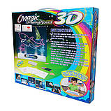Магическая 3D Доска (планшет) для рисования Magic Drawing Board, фото 2