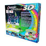 Магічна 3D Дошка (планшет) для малювання Magic Drawing Board, фото 2