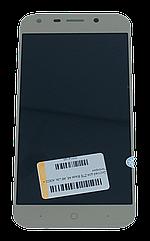 Модуль дисплея ZTE Blade A6, A6 Lite, A0622 + тачскрин (Модуль) золотистый
