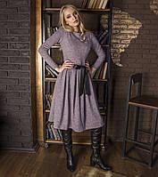 Платье женское пудра, арт.1031