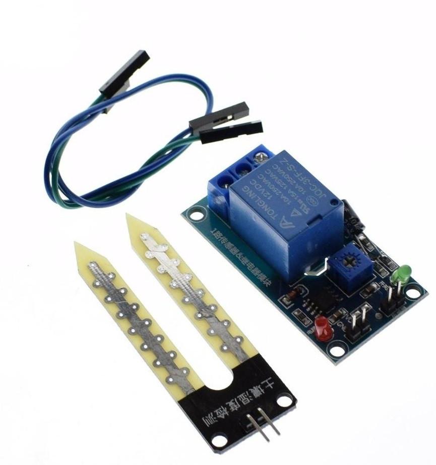 Модуль влажность почвы с реле 5V