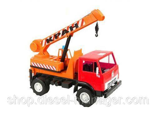 Машинка КАМАЗ Кран Орион 860 Оранжевый (tsi_16099)