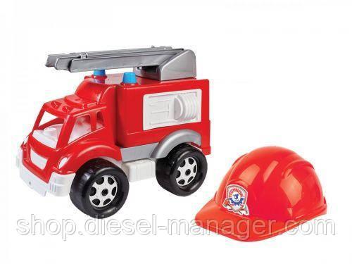 Машинка с каской Малыш-Пожарник Технок 3978 (tsi_28350)