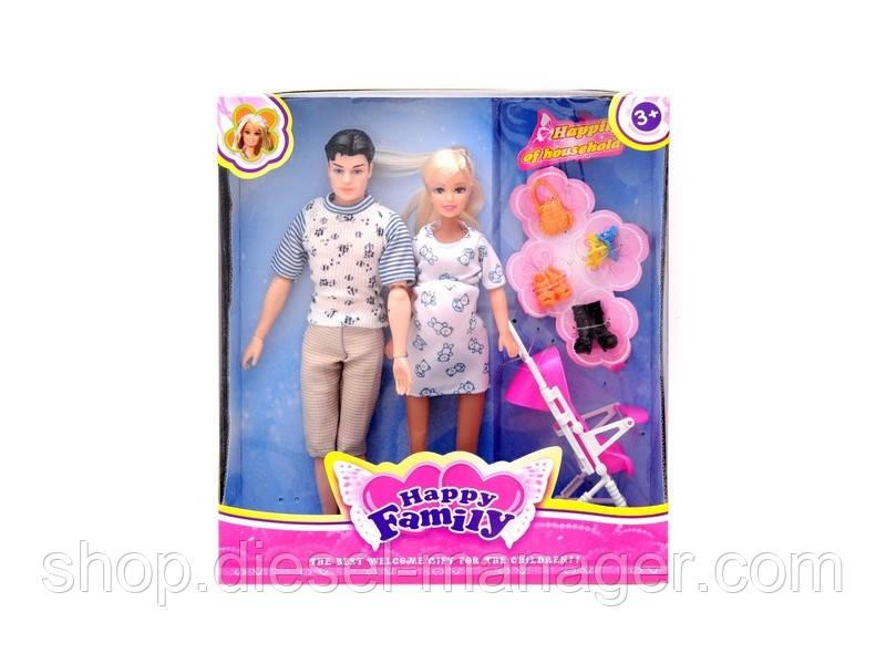 """Куклы """"Семья"""" в коробке 30х33х8.5 см (006sef118)"""