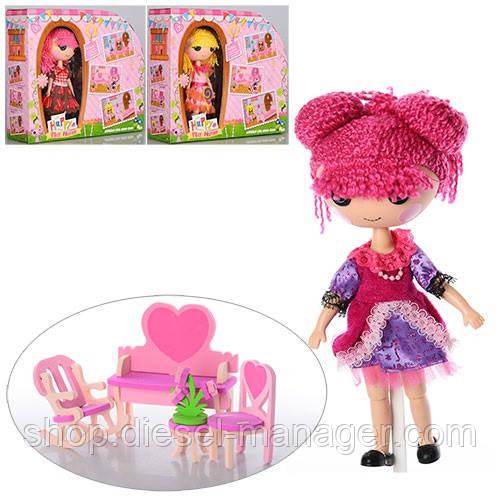 Кукла Metr+ Lalaloopsy шарнирная с мебелью DH2057-1-2-3 Красное платье (hub_mahR31859)