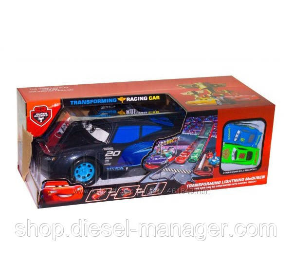 Машина Тачки 3 с треком-запуском Kronos Toys 6350 (tsi_45406)
