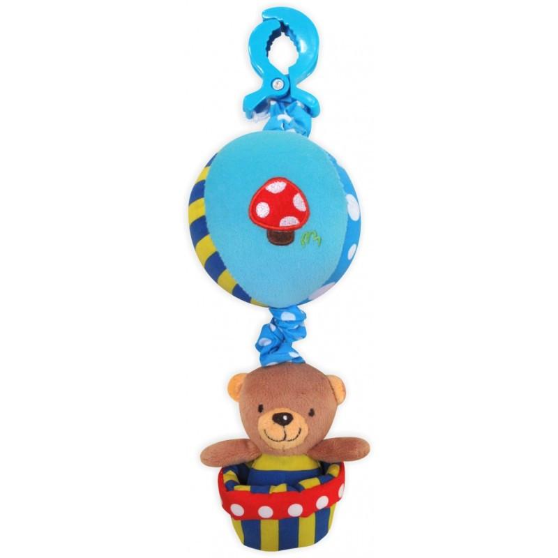 """Плюшевая игрушка Baby Mix """"Мишка на воздушном шаре"""" Р/1116-3181"""