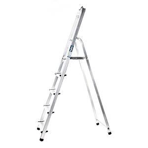 Лестница алюминий 6 ступений HOHER 330 см