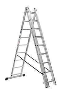 Лестница алюминий 3х7 HOHER 519 см