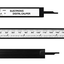 DANIU Цифровой штангенциркуль 6-дюймовый 150 мм Электронный Водонепроницаемы IP54 Цифровой штангенциркуль Микрометр измерения - 1TopShop, фото 3