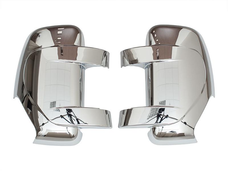 Накладки зеркала Хром Master Movano 2010-  мастер