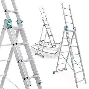 Лестница алюминий 3х7 ALVE 399 см