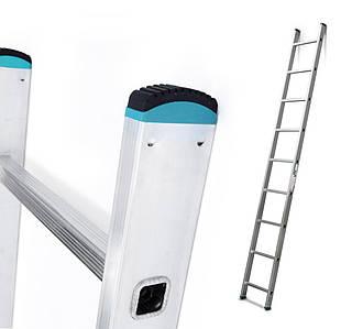 Лестница алюминий 1х9 ALVE 256 см