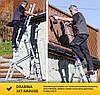 Лестница алюминий 3х7 KRAUSE CORDA 420 см, фото 5