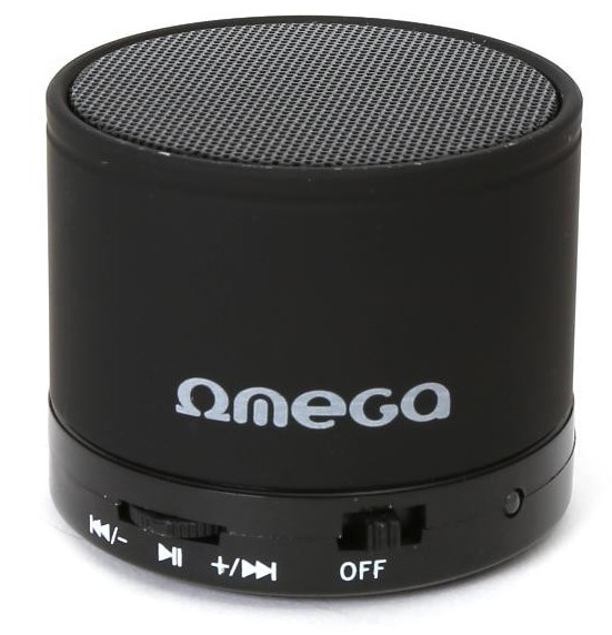 Портативная колонка Omega Bluetooth OG47B Black