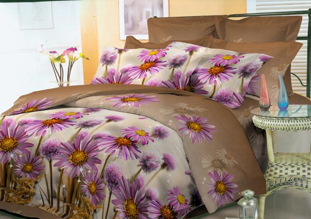 Комплекты постельного белья (60% хлопок + 40% полиэстер)