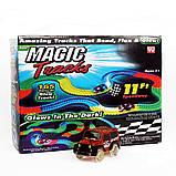 Magic Tracks 165 Деталей /Гибкая автомобильная гоночная трасса Меджик Трек/ Игрушка автотрек, фото 3