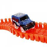 Magic Tracks 165 Деталей /Гибкая автомобильная гоночная трасса Меджик Трек/ Игрушка автотрек, фото 7