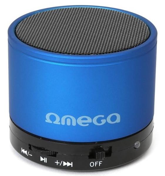 Портативная колонка Omega Bluetooth OG47B blue