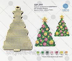 """Іграшка дерев'яна новорічна """"Ялинка"""" для вишивання (ІДН_016 Virena)"""