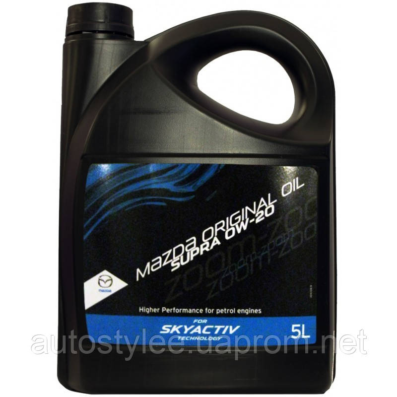 Масло моторное Mazda Original Oil Supra 0W-20 (0W2005TFE) 5 л.