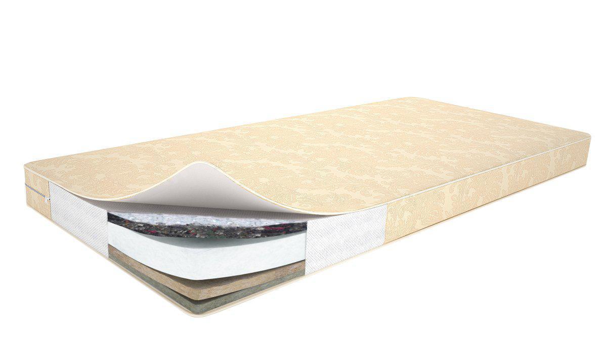 Беспружинный детский ортопедический матрас в кроватку 160/70  ТМ Lux baby Ultra Cocos Comfort 18 см.