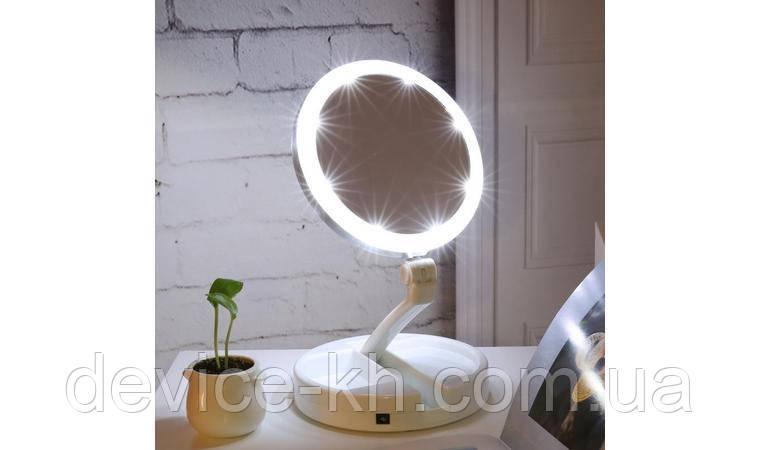 Cкладное Зеркало С Подсветкой Fold Away