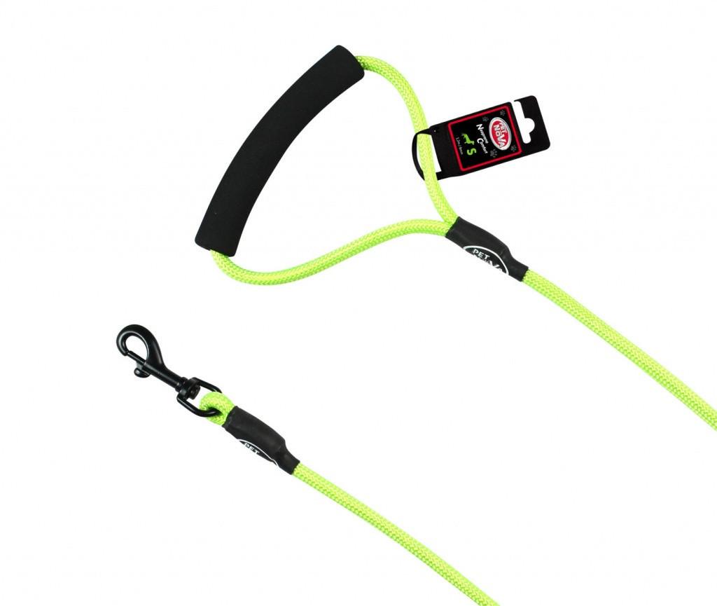 Шнур-поводок Pet Nova Rope L 1.0 x 120 см Зелёный