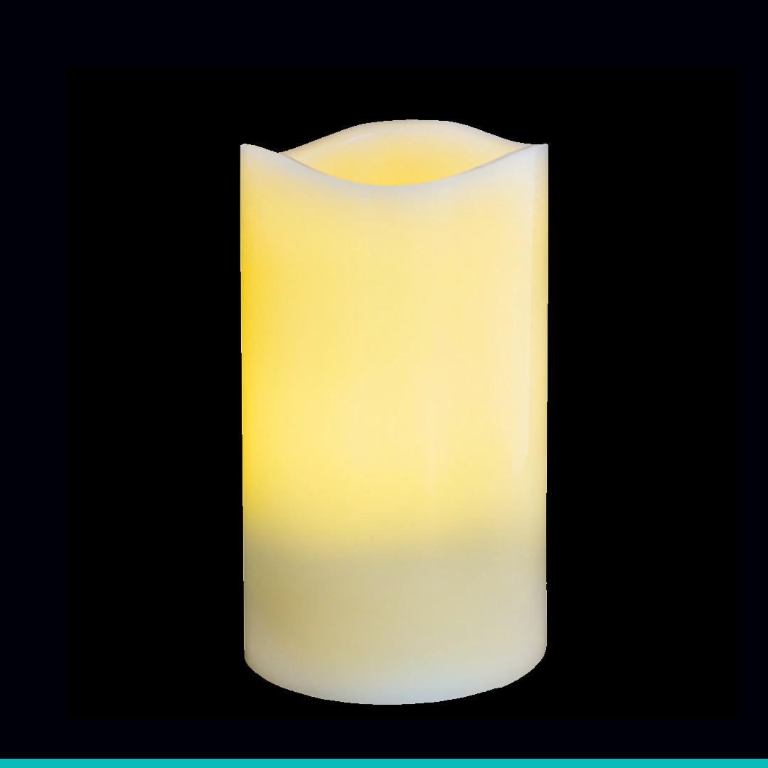 Свеча восковая LED, 7.5*12.5