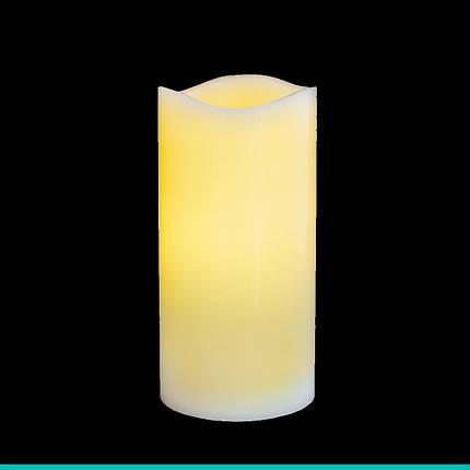 Свеча восковая LED, 7.5*15, фото 2