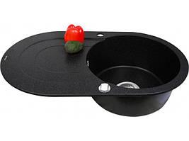 Кухонная мойка Perfelli ORVIETTO OGO 114-78 black