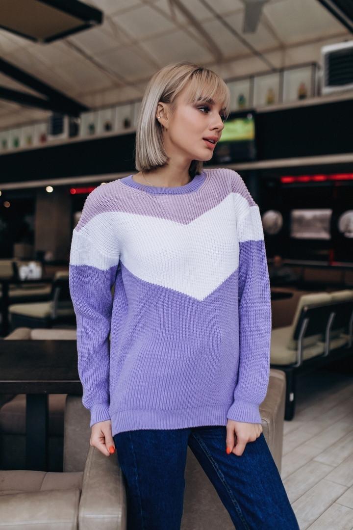Женский свитер, 100% хлопок. Размер: 42-44. Цвета разные. (5307)