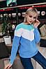Женский свитер, 100% хлопок. Размер: 42-44. Цвета разные. (5307), фото 4