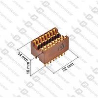 ИС панелька DIP Панелька  РС1-16-1