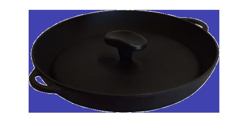 "Сковорода-гриль (340х40 мм.) ""Термо"" с прессом"