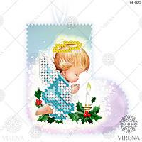 """Іграшка новорічна """"Ялинкова прикраса"""" для вишивання ІН_020 (Virena)"""