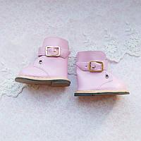 Обувь для кукол Сапожки на Застежке 7.5*4 см РОЗОВЫЕ, фото 1