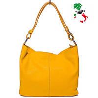 Женская итальянская кожаная сумка-хобо Bottega Carele BC214